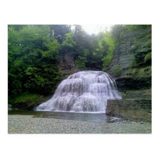 Enfield Glen falls in Ithaca, NY Postcard