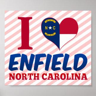 Enfield, North Carolina Poster