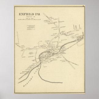 Enfield PO, Grafton Co Poster