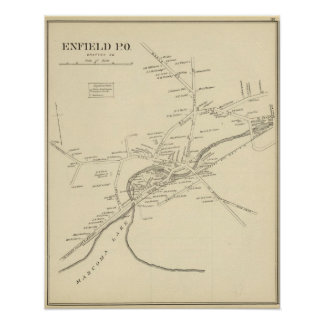 Enfield PO, Grafton Co Posters