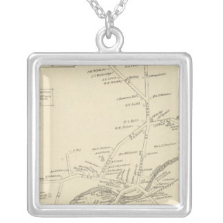 Enfield PO, Grafton Co Silver Plated Necklace