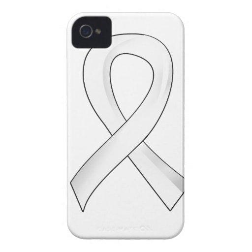 Enfisema de la cinta 3 de la conciencia iPhone 4 Case-Mate funda
