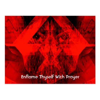 Enflame Thyself With Prayer Postcard