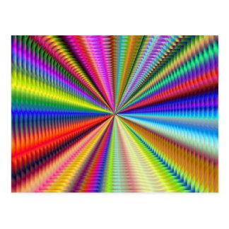 enfoque en este fractal tarjetas postales