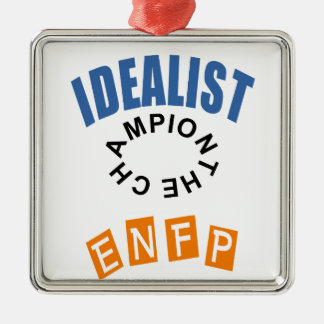 ENFP Idealist Personality Metal Ornament