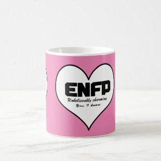 ENFP Unbelievably charming Yes I know heart MUG