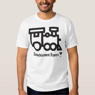 Enfranchisement Express Tee Shirt