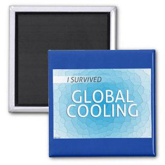 Enfriamiento global imán cuadrado