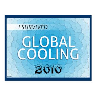 Enfriamiento global postales