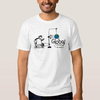 Enfriamiento global - verde de Idéias Camisas