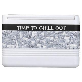Enfríe hacia fuera el pecho de hielo neverita igloo