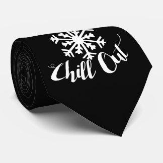 Enfríese hacia fuera corbata