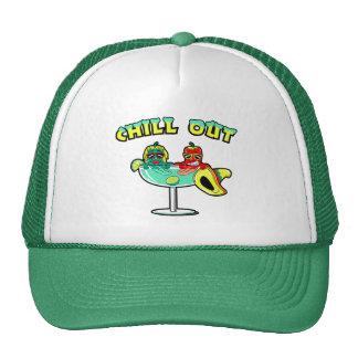 Enfríese hacia fuera gorras
