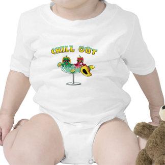 Enfríese hacia fuera traje de bebé