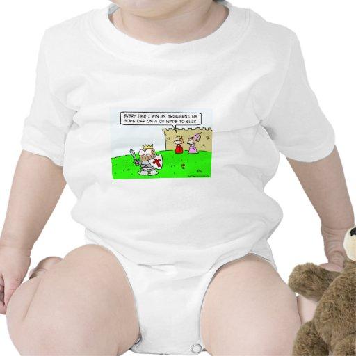 enfurruñamiento de la cruzada de la discusión de l trajes de bebé