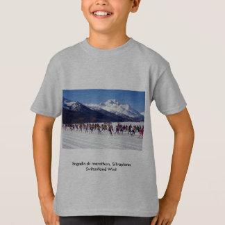 Engadin ski marathon, Silvaplana, Switzerland Wint T-Shirt