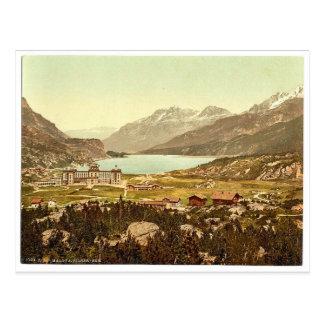 Engadine, Maloja, Lake of Sils, Grisons, Switzerla Postcards