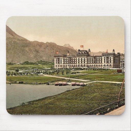Engadine superior, hotel de Kursaal, Grisons, Swit Tapetes De Raton