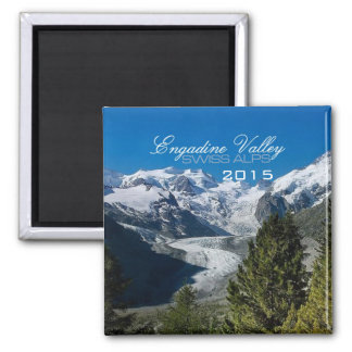 Engadine Valley Swiss Alps Magnet Change Year