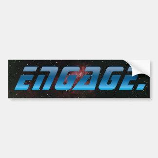Engage Bumper Sticker