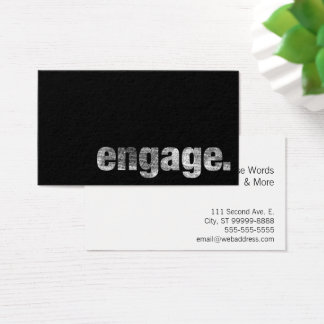 Engage Business Card