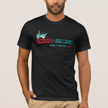 Beach Themed Engage San Diego T-Shirt V1