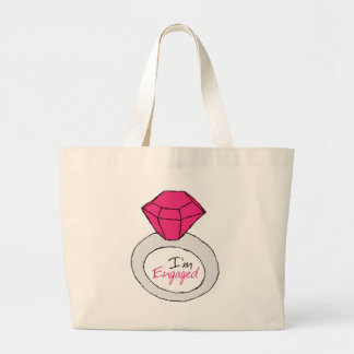 Engaged Canvas Bags