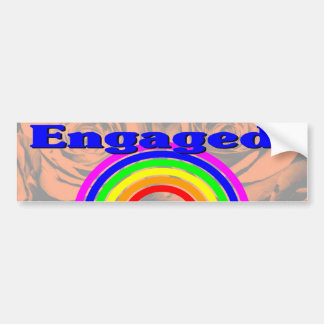 Engaged! Car Bumper Sticker