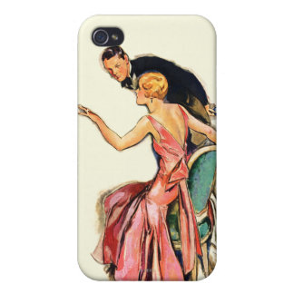 Engaged Couple Case For iPhone 4
