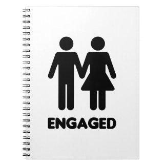 Engaged Couple Notebook