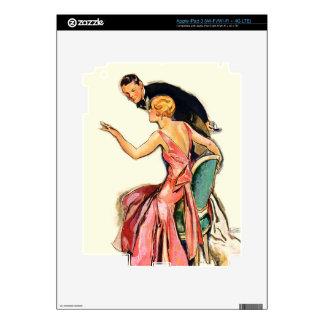 Engaged Couple Skin For iPad 3