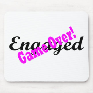 Engaged Game Over 1 Mouse Pad