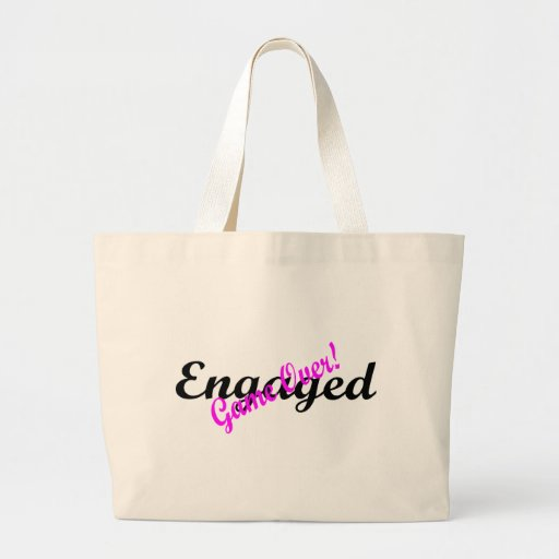 Engaged Game Over Tote Bag