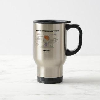 Engaged In Allostasis Inside (Endocrine Hormones) Travel Mug