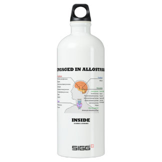 Engaged In Allostasis Inside (Endocrine Hormones) Water Bottle