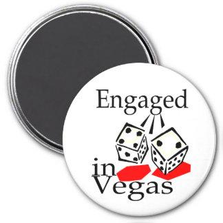 Engaged In Vegas Magnet
