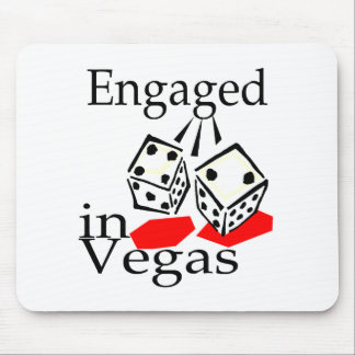 Engaged In Vegas Mouse Pad