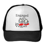 Engaged In Vegas Trucker Hat