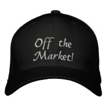 Engaged! Off the Market! Embroidered Baseball Hat