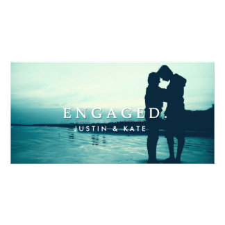 ENGAGED PHOTO CARD