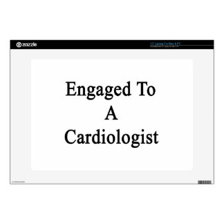 """Engaged To A Cardiologist Skin For 15"""" Laptop"""