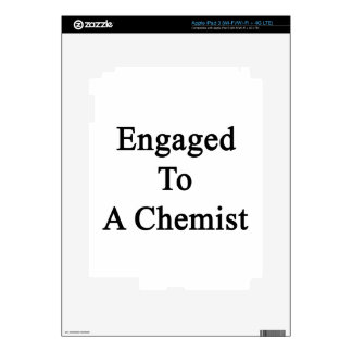 Engaged To A Chemist iPad 3 Skin