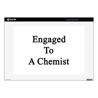 Engaged To A Chemist Laptop Skins