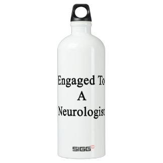 Engaged To A Neurologist Aluminum Water Bottle