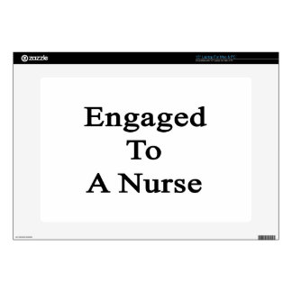 """Engaged To A Nurse Skins For 15"""" Laptops"""