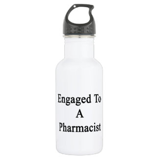 Engaged To A Pharmacist Water Bottle