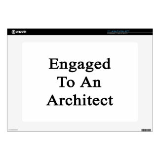 Engaged To An Architect Laptop Skin
