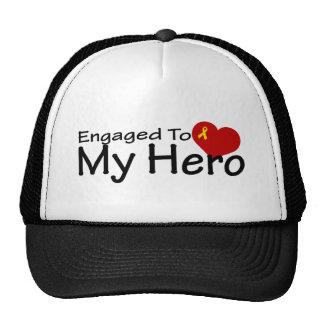 Engaged To My Hero Trucker Hat