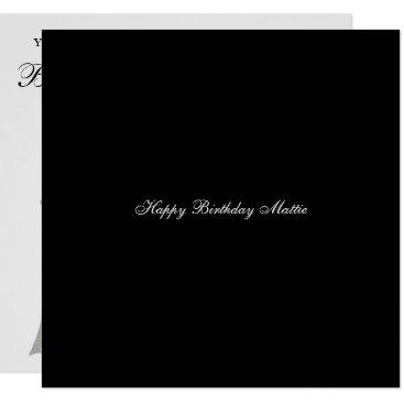 McTiffany Tiffany Aqua Engagement Anniversary Birthday Party Invitation