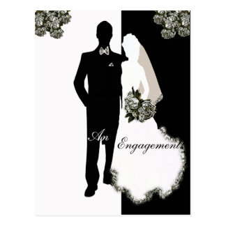 Engagement Announcement Post Card